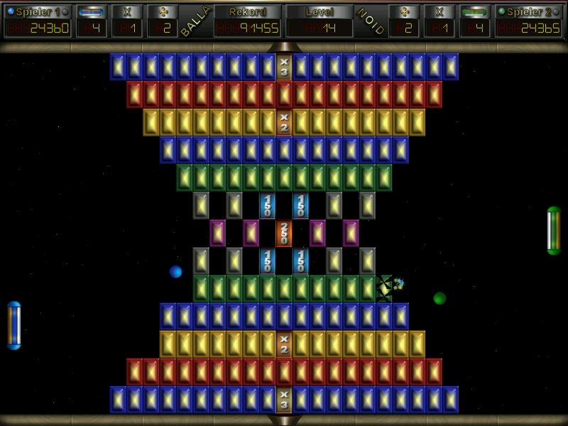 Screenshot vom Programm: Ballanoid eXtrem